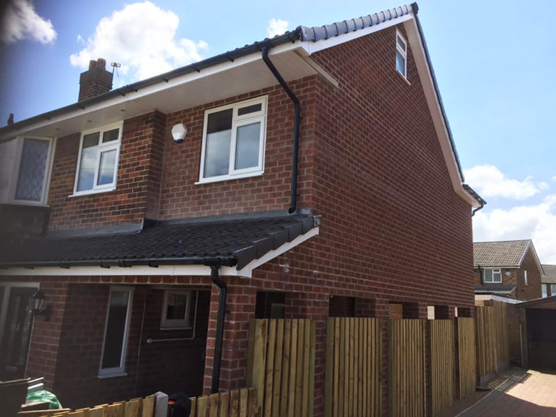 Double Extension in Batley, West Yorkshire