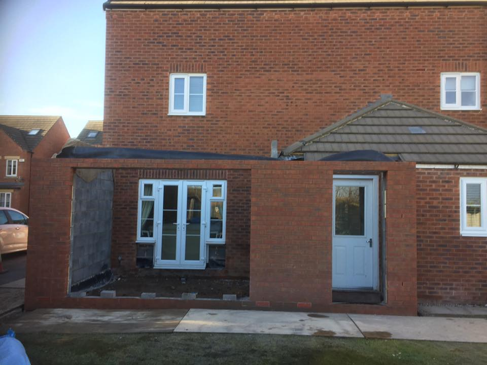 Single story rear extension, Thorpe